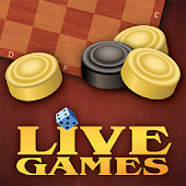 Checkers  LiveGames - free online game