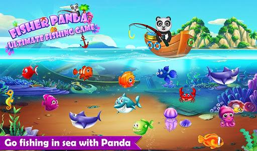 Happy Fisher Panda: Ultimate Fishing Mania Games 2.0 {cheat|hack|gameplay|apk mod|resources generator} 1