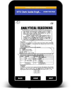 New NTS Clerk Guide English Latest:MCQs & GKLatest for PC-Windows 7,8,10 and Mac apk screenshot 19