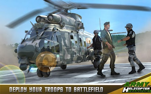 Army Helicopter Transporter 3D- screenshot thumbnail