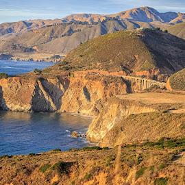 """Big Sur by Dan Herman - Landscapes Mountains & Hills ( """"highway 1"""" """"big sur"""" )"""