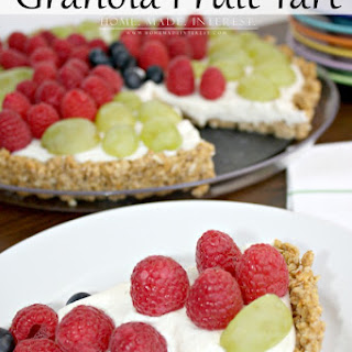 Granola Fruit Tart.