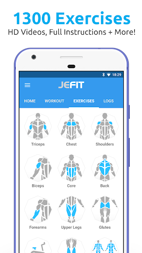 Image of JEFIT Workout Tracker, Weight Lifting, Gym Log App 10.51 1