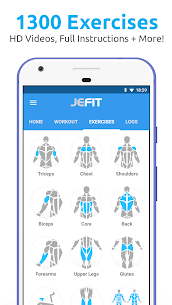 JEFIT Workout Tracker Apk – Weight Lifting, Gym Log App 1