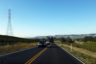 Photo: Our first destination: Sonoma Valley, after a good night's rest in Fairfield