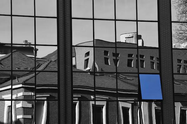 il cielo attraverso un riflesso di Photobyas Paolo Biasibetti