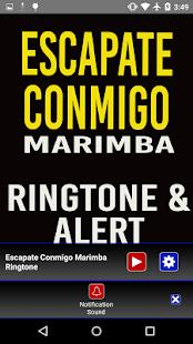 Escapate Conmigo Marimba Tone - náhled