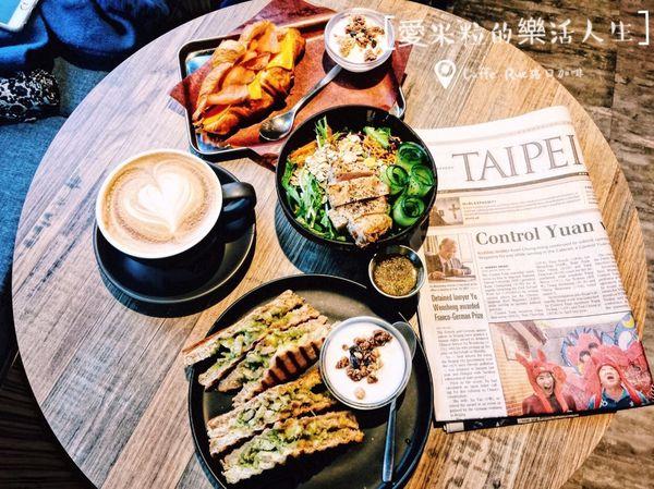 Caffe' Rue路口加啡。異國風情的澳式咖啡館,一杯Espresso配可頌,開啟晨之美
