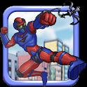 Rope Bot Superhero icon