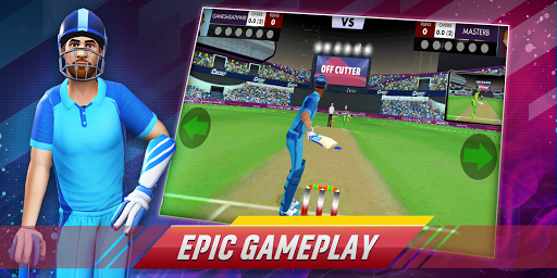 Code Triche Cricket Clash Live - 3D Real Cricket Games apk mod screenshots 6