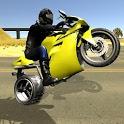 Wheelie King 3D - Realistic free  motorbike racing icon