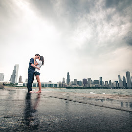 Reflections by Jimmy James - People Couples ( mokena, couple, engagement photography, illinois, dramatic, best, creative )