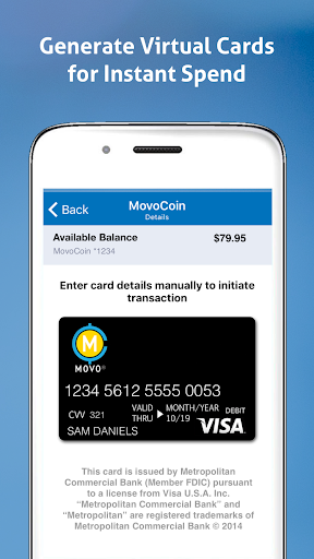 MOVO - Mobile Cash & Payments  screenshots 3