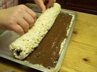 Rice Krispies Rollups Recipe
