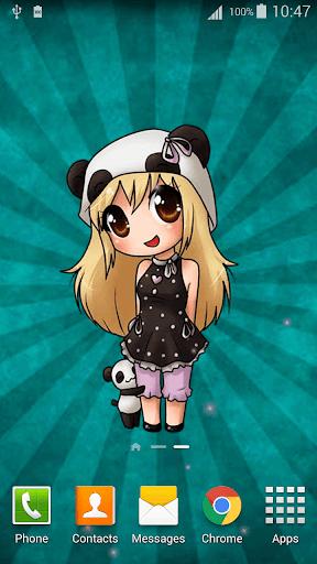 Anime Chibi Live Wallpaper 2.8 screenshots 2