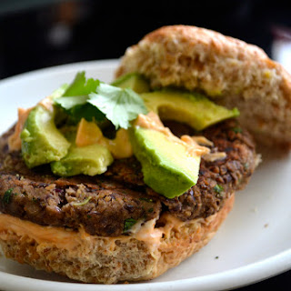 The Meat Lover's Black Bean Burger
