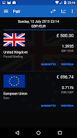 Screenshot of Exchange Rates (Preview)