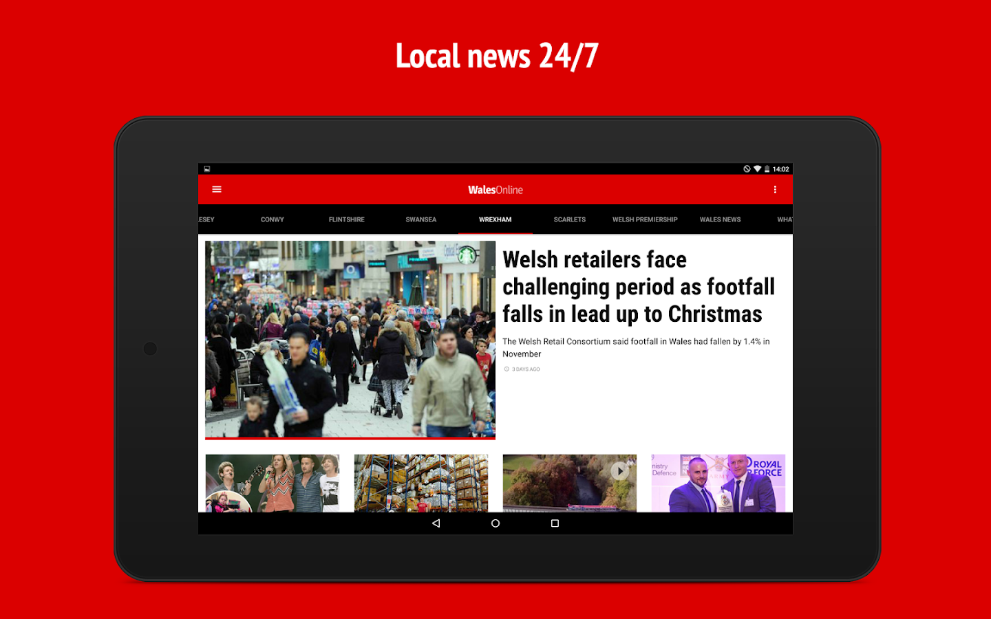 Wales Online- screenshot