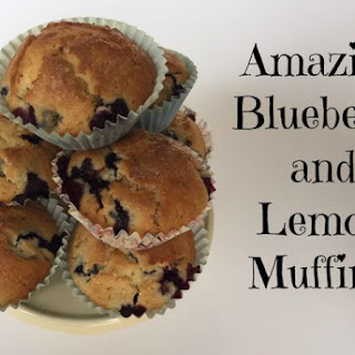 Lemon and Blueberry Muffins.