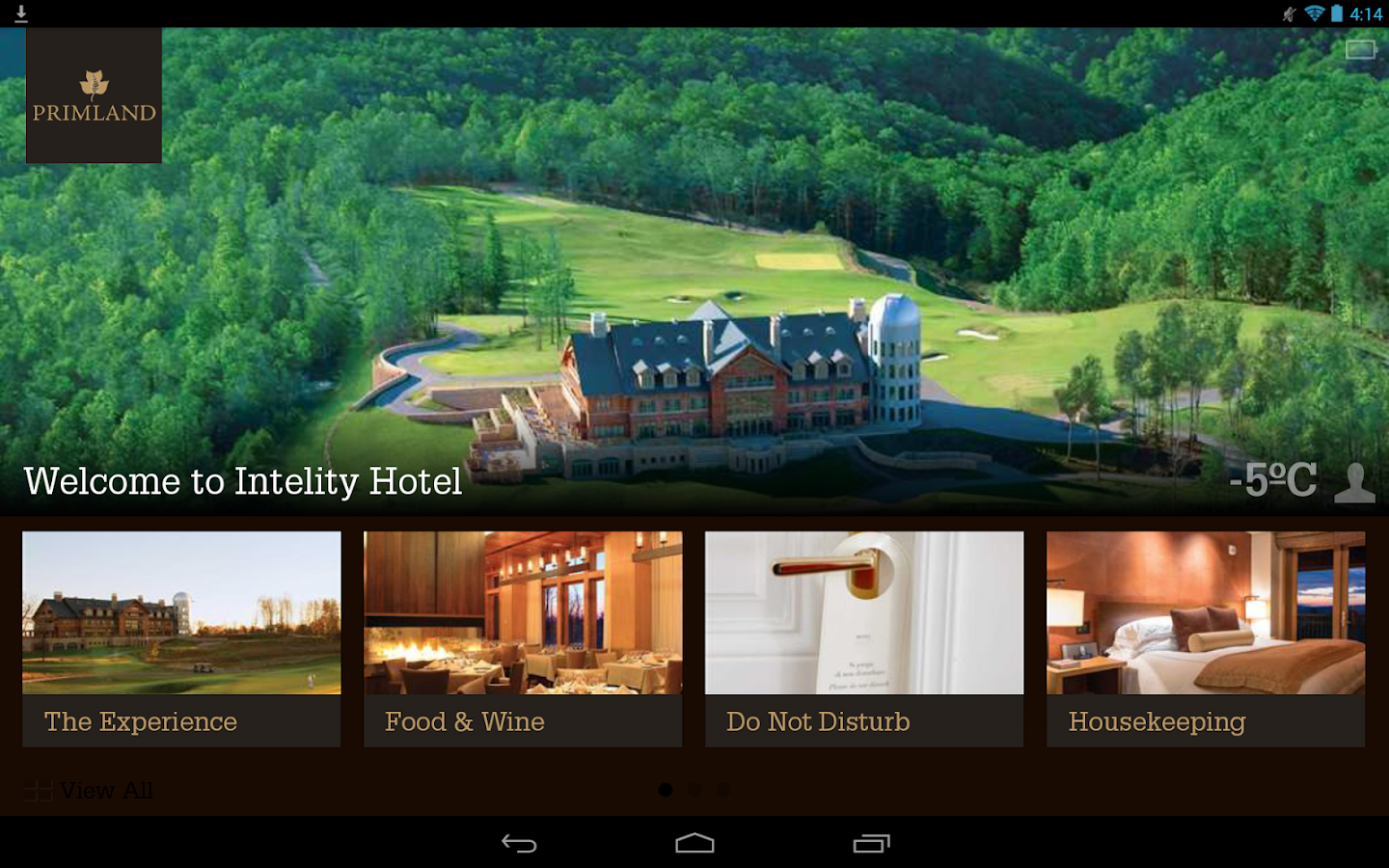 Primland Resort- screenshot