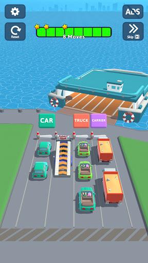 Car Stack - A Queue Puzzle apktreat screenshots 1