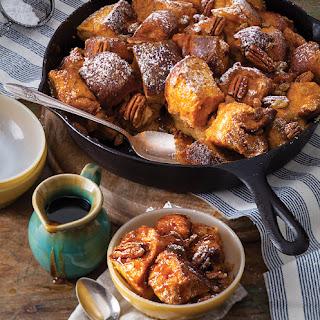 Pumpkin-Maple Bread Pudding Recipe