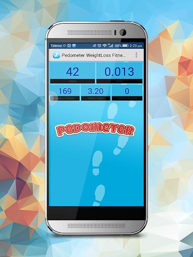 Pedometer Weight Loss Fitness screenshot 1