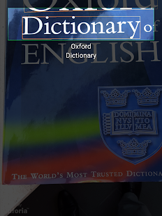 Concise Oxford English Dictionary & Thesaurus Screenshot