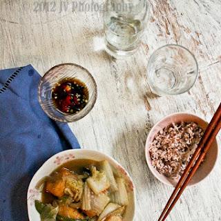Claypot Tofu with Seafood