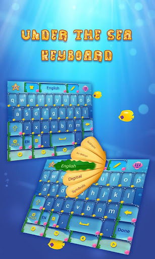 Under the Sea Keyboard Theme