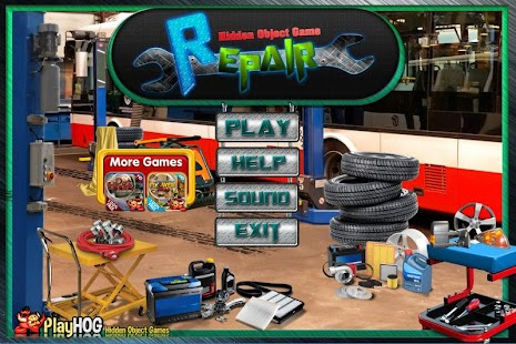 Challenge #205 Repair New Free Hidden Object Games - náhled