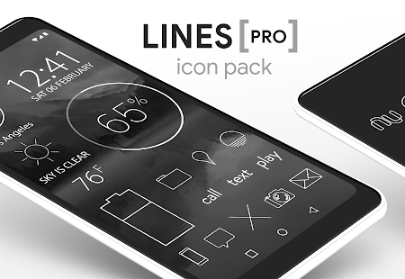Lines - Icon Pack (Pro Version) Screenshot