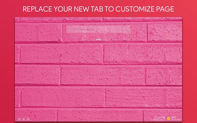Pink Wallpaper HD Custom New Tab