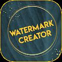 Water mark creator icon