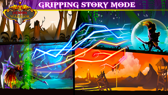 Demon Warrior: Stickman Shadow – Fight Action RPG 4
