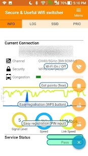 Secure Wifi switcher (Wi-Fi Security /Prepaid VPN) - náhled
