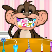 Dentist Games - Crazy Monkey Dentist