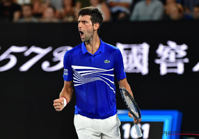 Novak Djokovic a souffert