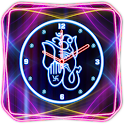 Neon Ganesh Clock icon