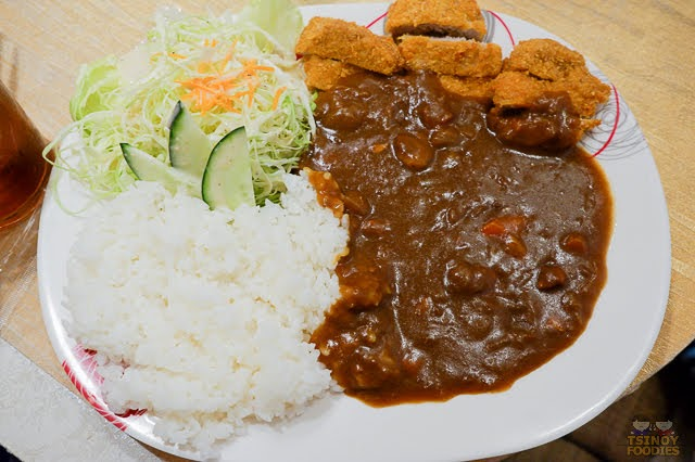 hirekatsu curry set