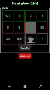 WilliM PlanningPoker- screenshot thumbnail