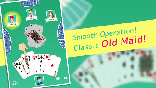 Old Maid - Free Card Game