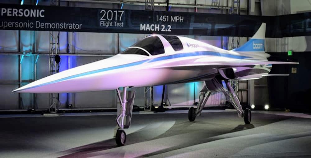 Демонстратор XB-1 от Boom Supersonic