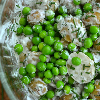 New Potato and Sweet Pea Salad
