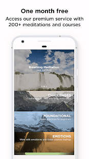The Mindfulness App: relax, calm, focus and sleep – уменьшенный скриншот