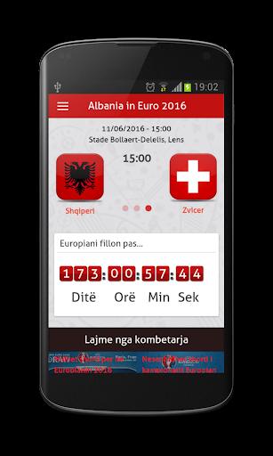 Albania in Euro France 2016