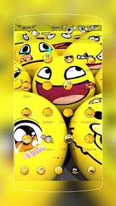 Funny Smile  Emoji screenshot 8