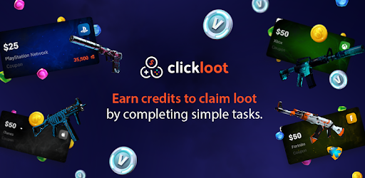 ClickLoot (SkinSilo) - Earn skins and gift cards - Apps on Google Play