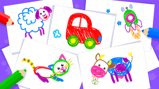 Toddler Drawing Academyud83cudf93 Coloring Games for Kids  screenshots 7