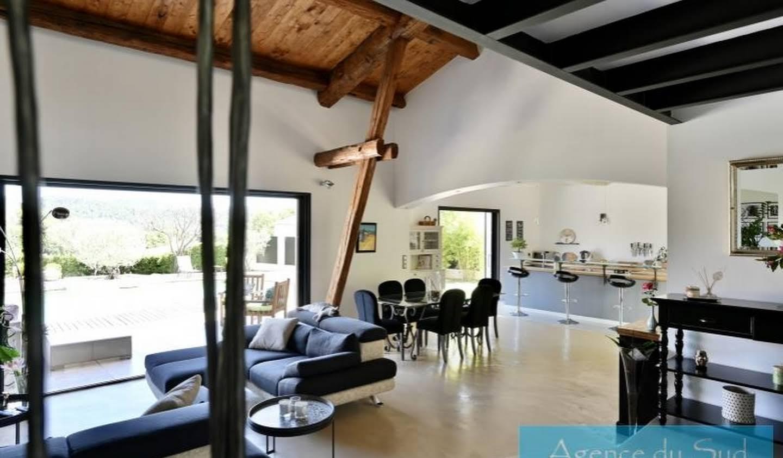 Villa avec piscine et terrasse La Bouilladisse